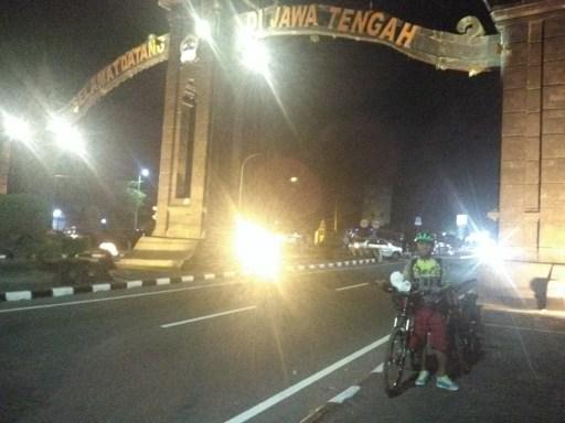 Gapura perbatasan Jawa Tengah dengan Yogyakarta