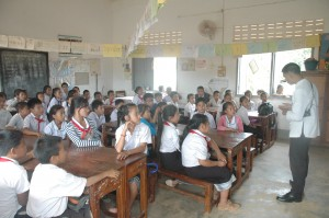 Kids at TAEC Laos before GoAnimate for Schools.