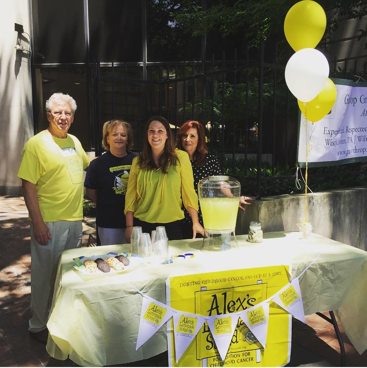 Gawthrop Greenwood Supports Alex's Lemonade