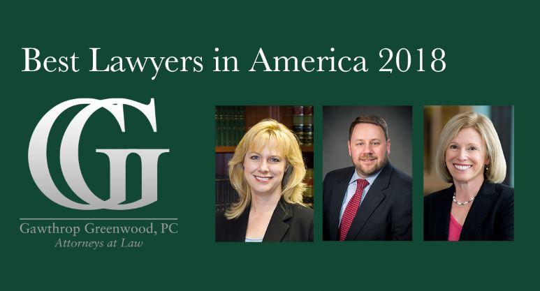 Best Lawyers Stacey Fuller Patrick McKenna Joanna Reiver