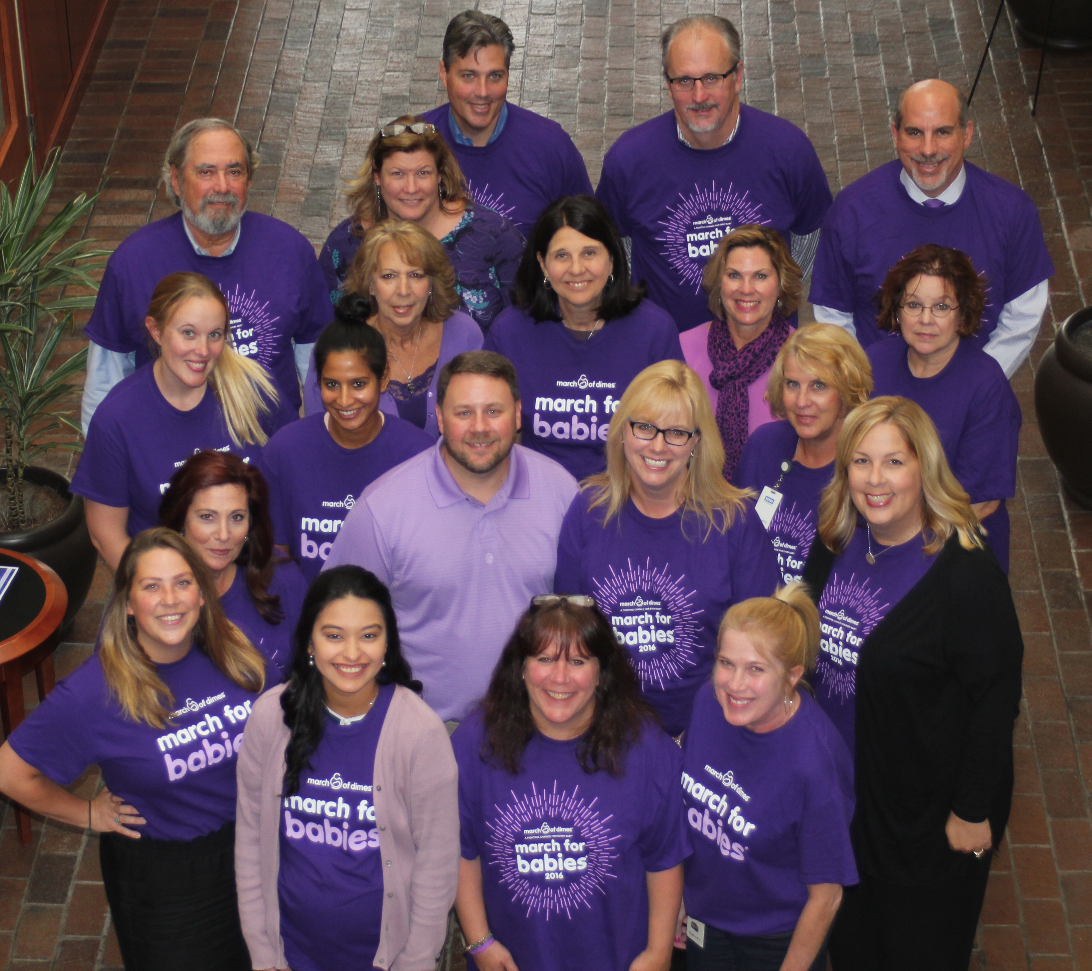 Gawthrop March Of Dimes Donation