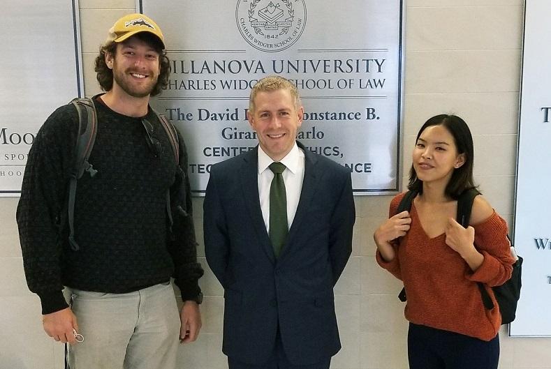 Gawthrop Presents: John Rafferty At Villanova University School Of Law