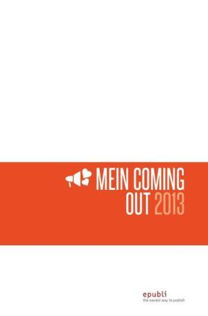 Mein Coming-Out 2013 | Schwule Bücher im Online Buchshop Gay Book Fair