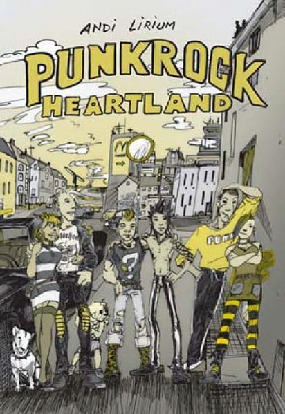 Punkrock Heartland: Graphic Novel   Schwule Bücher im Online Buchshop Gay Book Fair