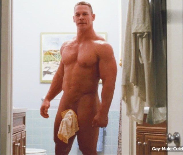 John Cena A Famous American Wrestler Loves His Body Very Much And Is Always Happy To Flaunt It Recently He Shared A Video Posing Absolutely Nude Showing