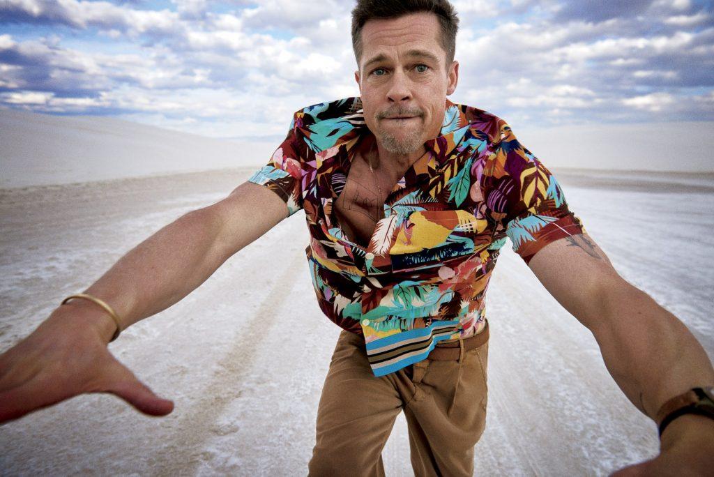 24 fotos de Brad Pitt para GQ