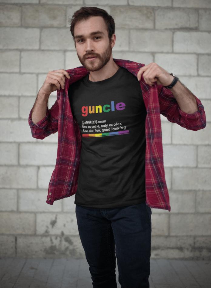 Camiseta Guncle