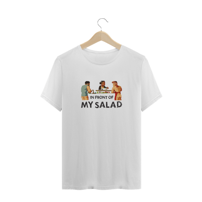 in front of my salad pornô