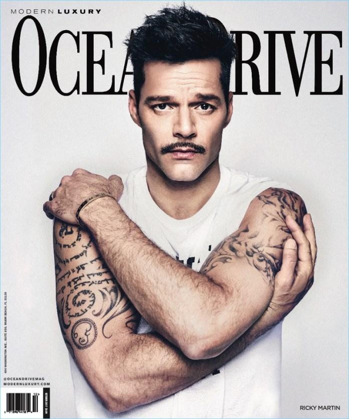 Ricky Martin para Ocean Drive Magazine