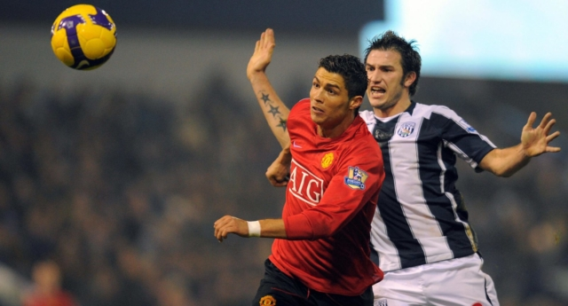 Cristiano Ronaldo e Carl Hoefkens