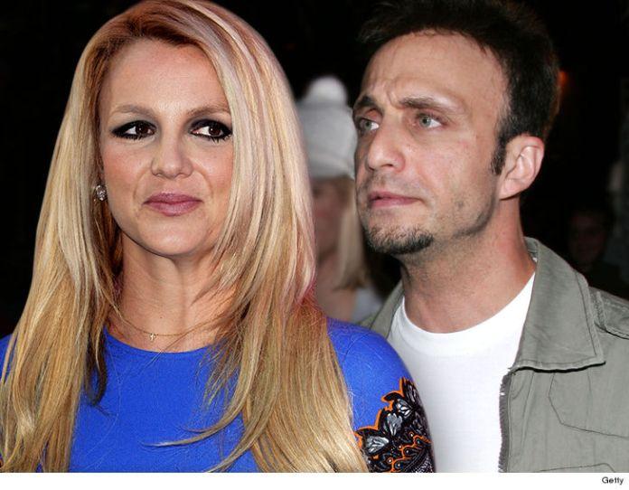 Britney Spears e o empresário Larry Rudolph