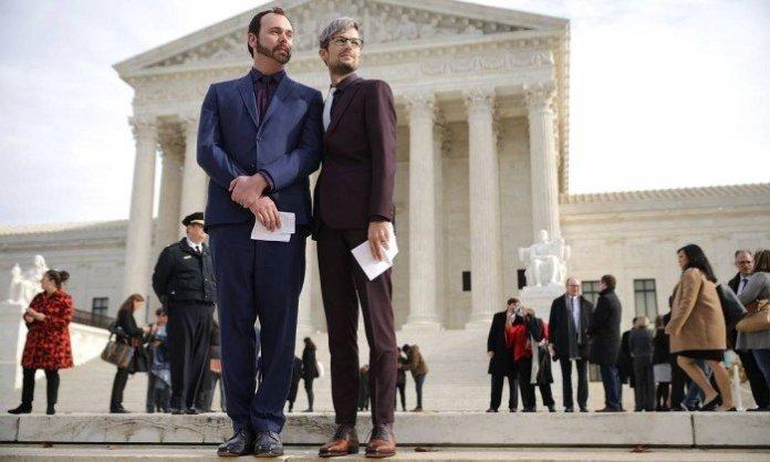 Dave Mullins e Charlie Craig levaram o caso à justiça - CHIP SOMODEVILLA / AFP
