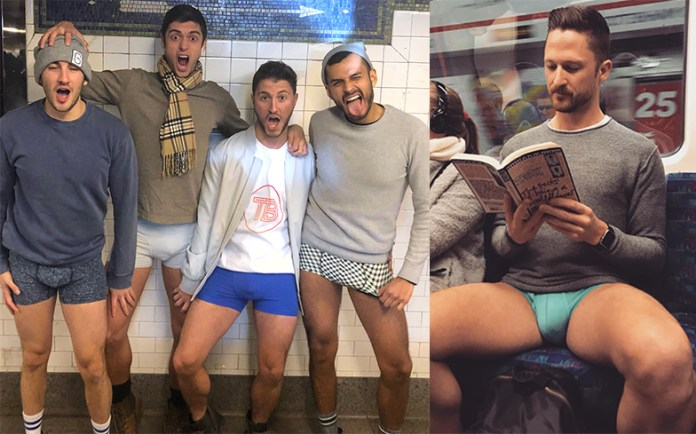 No Pants Subway Ride 2018