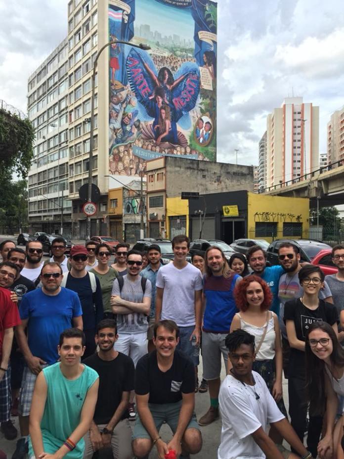 Foto do 2º Free Walking Tour LGBT