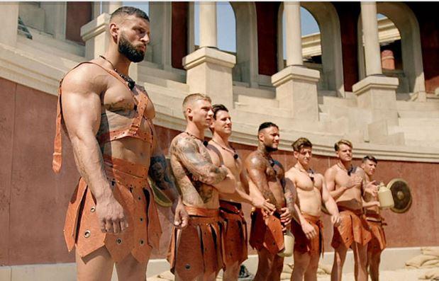 Reality britânico 'Bromans' é baseado em desafios físicos de gladiadores romanos