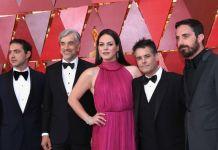 """Staff de """"Uma mulher fantástica"""" no red carpet do Oscar 2018"""