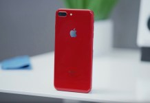 iphone red apple