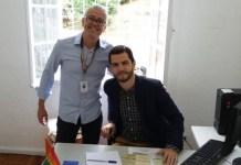 Ricardo Dias (Advogado do Centro de Cidadania LGBTI Luiz Carlos Ruas) e Erik Saddi (Defensor Público)