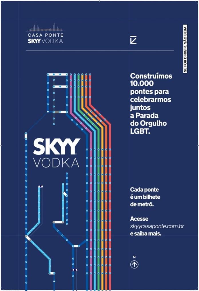 Los boletos crearán miles de puentes para que el público visite la 22° Parada del Orgullo LGBT de San Pablo