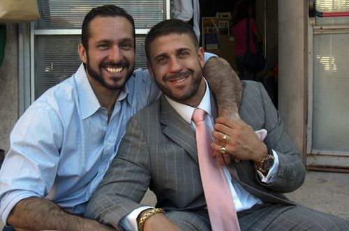 Gustavo Leguizamón e Ruggero Freddi. Foto: reprodução