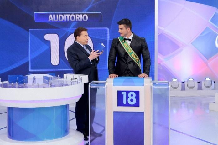 Bruno Poczinek no Programa Silvio Santos Divulgação