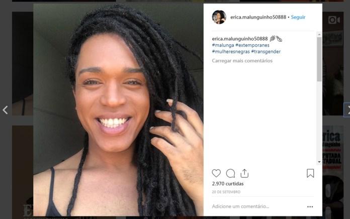 A primeira mulher trans eleita deputada estadual em São Paulo.  Foto: Reprodução/Instagram