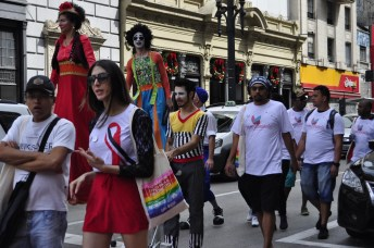 No último domingo (02), tivemos a 2ª Caminhada da AIDS na região central com diversas atrações culturais.