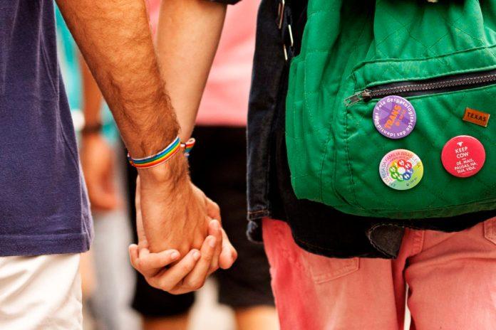 Participantes da 19ª Parada do Orgulho LGBT na Avenida Paulista, São Paulo - SP, Brasil neste domingo 07 de junho. Foto: LeoPinheiro