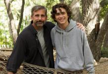 Steve Carell and Timothée Chalamet star in Beautiful Boy