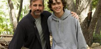 Steve Carell and Timothée Chalamet star in Beautiful Boy