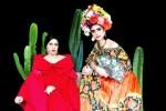 Artistas Andy Vidade e Naomi Kahlo incorporam Tarsila do Amaral e Frida Kahlo no Calendário Drag 2019 / Sidon/Calendário Drag 2019