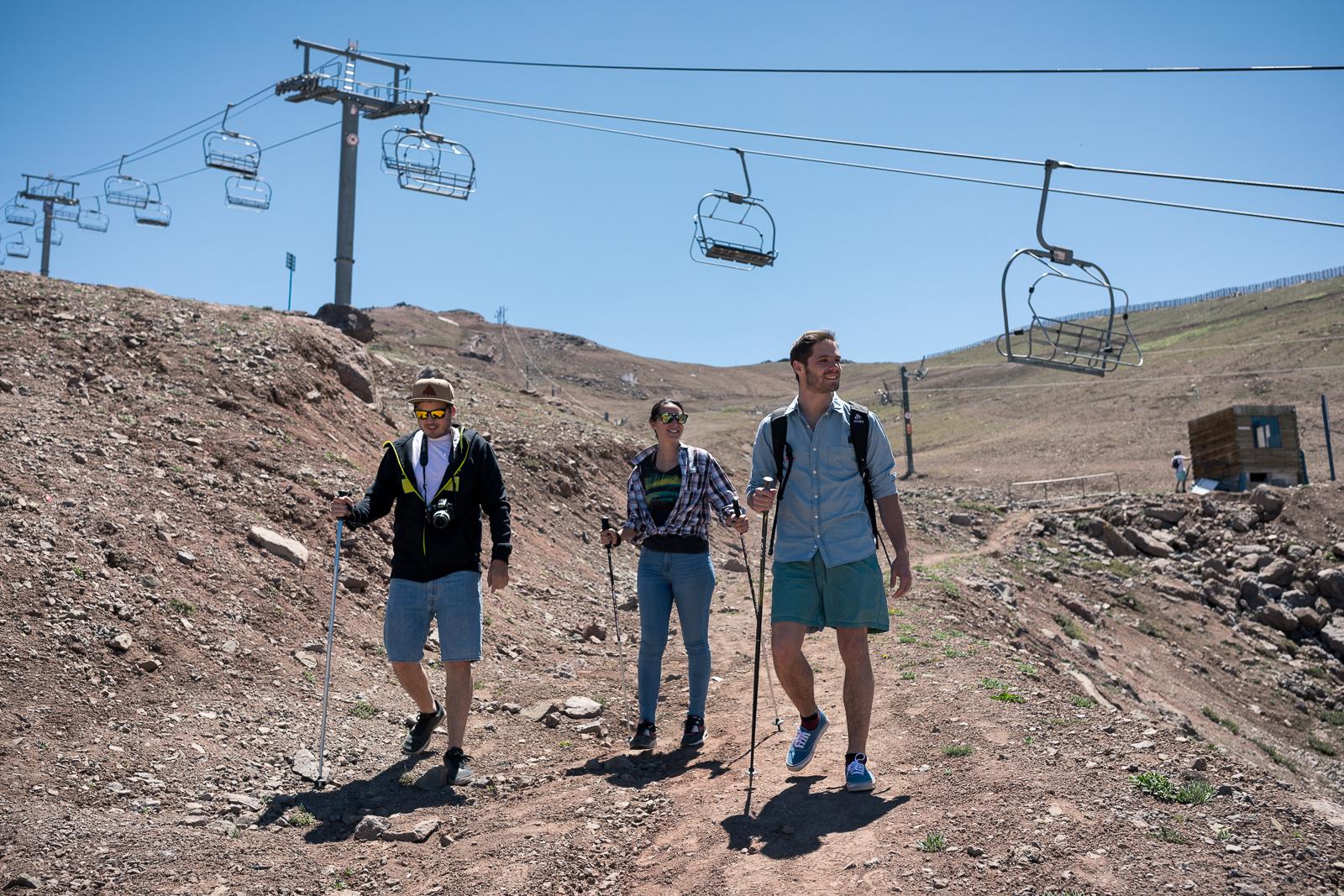 Valle Nevado anuncia roteiros de verão na Cordilheira dos Andes