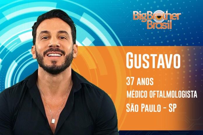 Gustavo é vaidoso — Foto: Gabriella Dias/Gshow