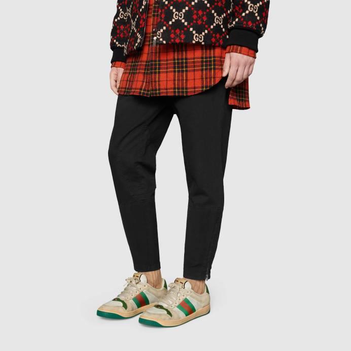 Screener leather sneaker (reprodução)