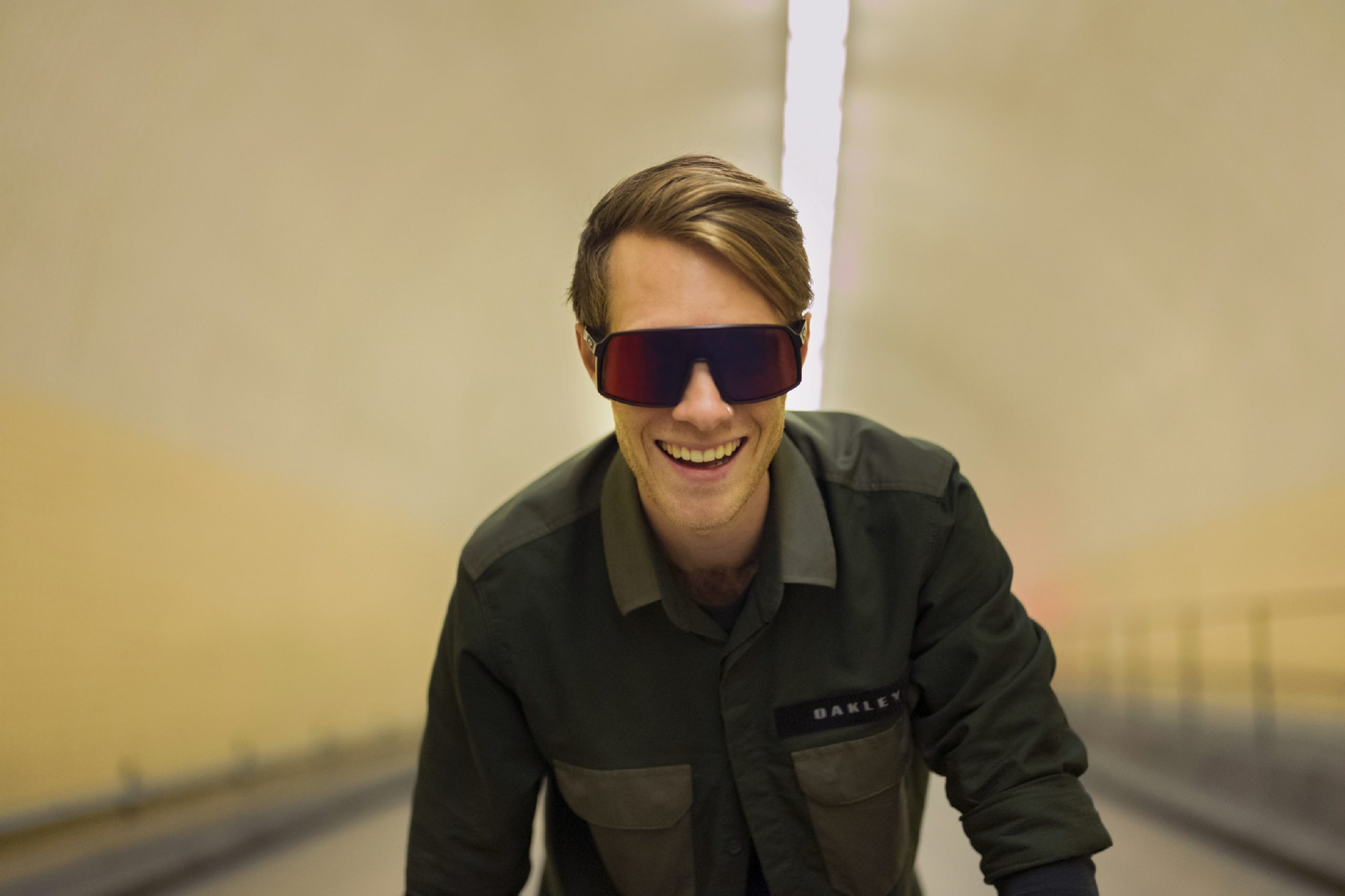 da8d54645 Desenvolvido para ciclistas, óculos Sutro não escorrega com o suor