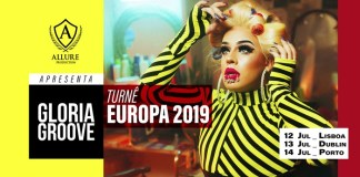Gloria Groove na Europa: shows acontecem em julho