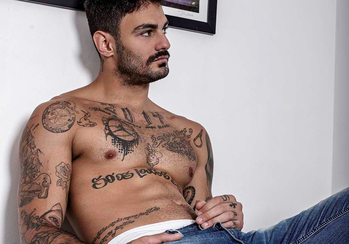 ENSAIO: Luis Coppini por Ronaldo Gutierrez para Brazilian Male Model