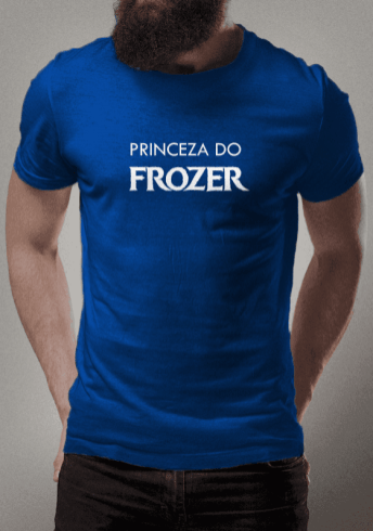 Brusinha princesa do frozen frozer