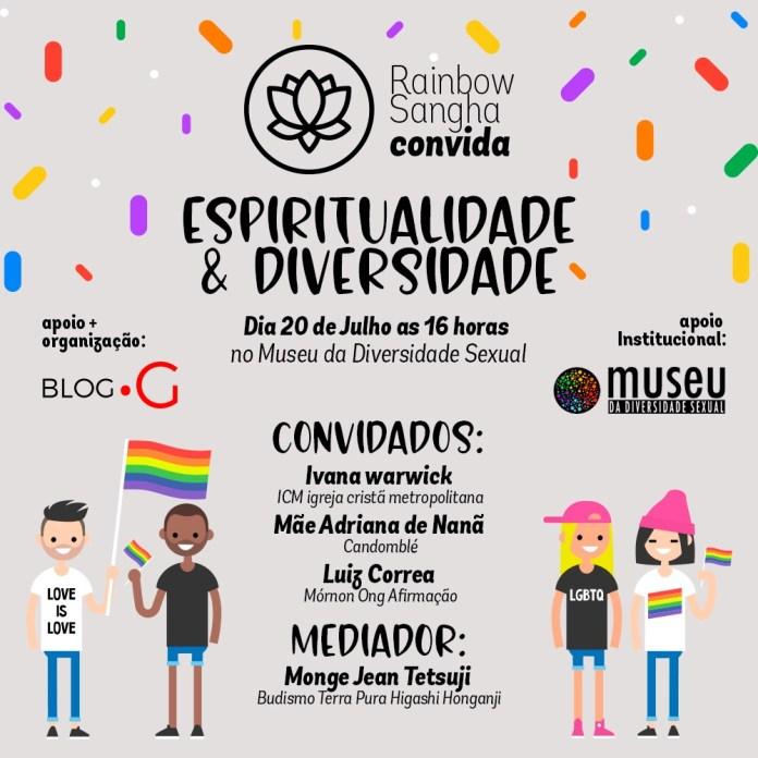 Museu da Diversidade Sexual promove encontro de LGBTs Budistas
