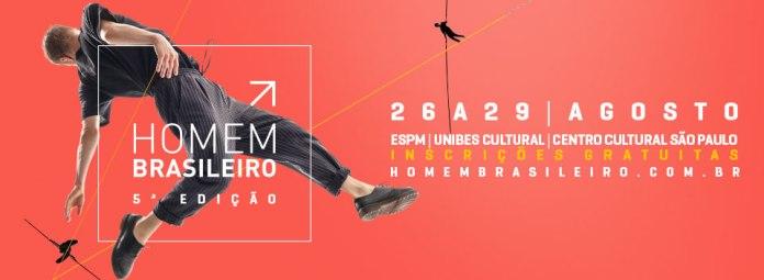 Quinta edição do evento sobre os comportamentos masculinos e o mercado acontecerá em três grandes centros culturais da cidade de São Paulo.