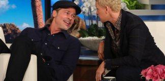 Ellen DeGeneres revela ao vivo a Brad Pitt que teve caso com uma de suas ex-namoradas