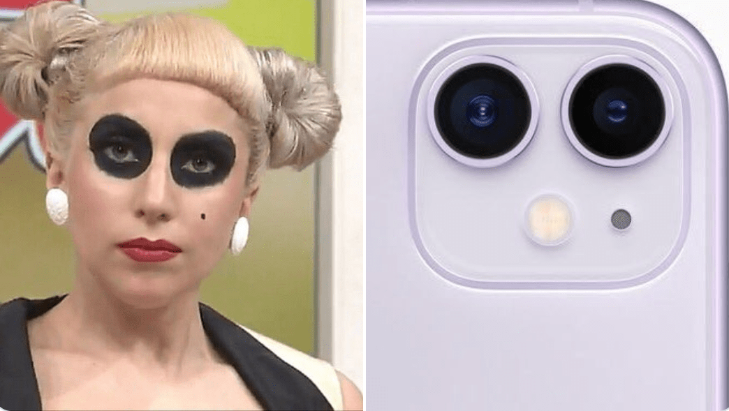 'Lady Gaga como iPhone' é o mais novo meme na internet