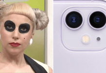 lady gaga iphone