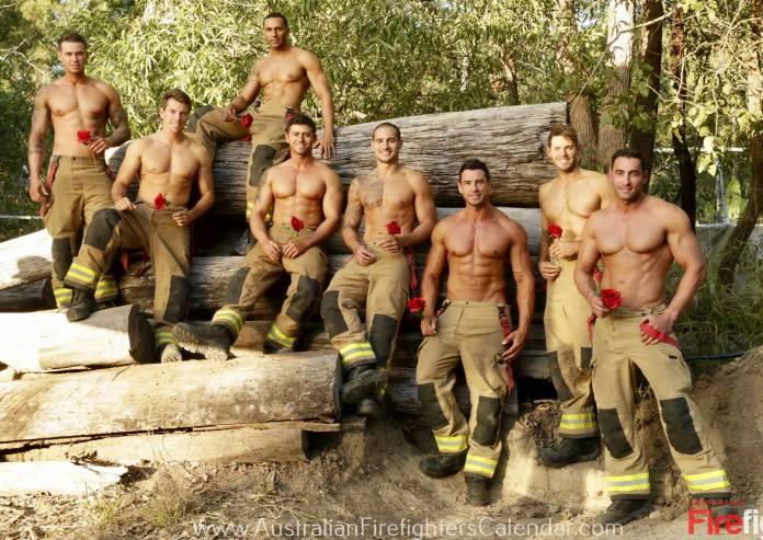 Bombeiros australianos posam para calendário para arrecadar fundos contra as queimadas