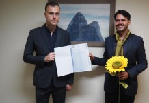 Casal gay sela 1ª união por meio de tecnologia Blockchain no Brasil