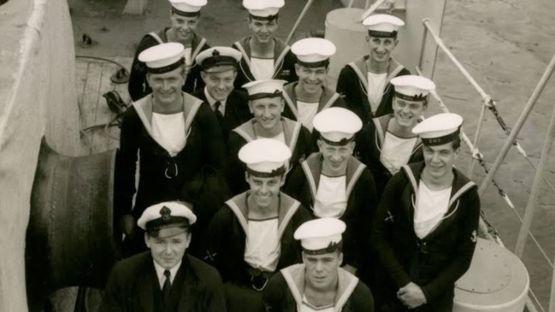 Na marinha, Underhill encontrou seu primeiro amor (Foto: Reprodução)