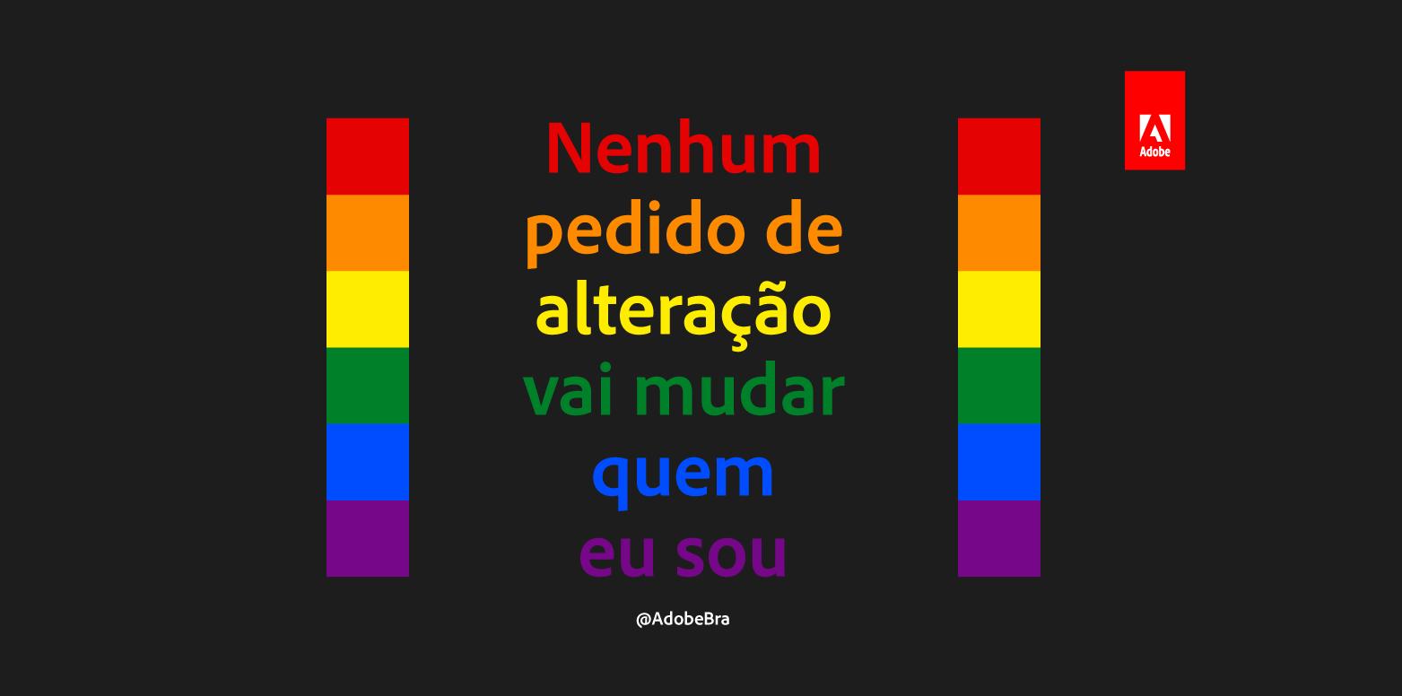 """Quando um LGBT+ reclama do """"marketing arco-íris"""", nasce uma poc daninha"""