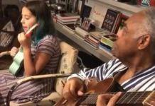 """Gilberto Gil e neta fazem de cover de """"Baby One More Time"""", da Britney Spears"""