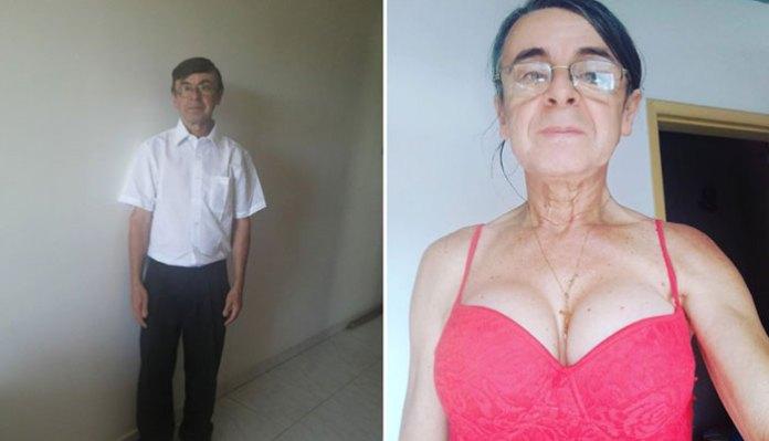 Trans aos 62 anos, Ana Carolina Apocalypse se torna influencer de marca de cosméticos