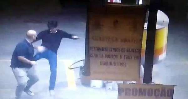 Pré-candidato a prefeito do interior de Minas Gerais é acusado de agressão e homofobia; veja vídeo